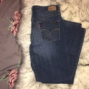 Levi's Mid-Rise Skinny Jeans Medium Wash